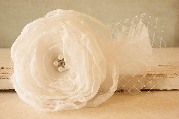 Elegant Wedding Hair Clip Elegant Hair Piece by BeautyfromashesUSA