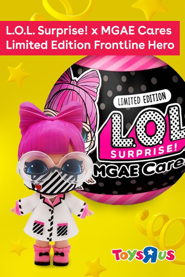Doll Limited Edition MGAE Cares Frontline Heroes 7 Surprises New LOL Surprise