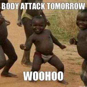 Love bodyattack! Haha
