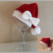 Baby Santa Hat Crochet Pattern - via @Craftsy