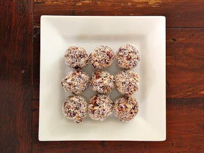 A Fresh Approach: Bliss ball recipe