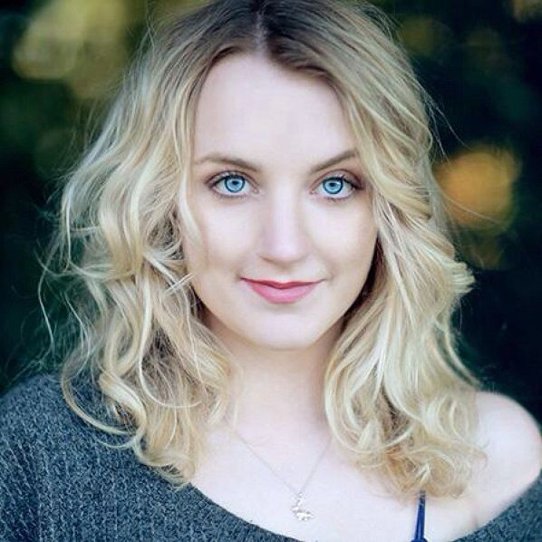 Evanna Lynch Who didn't have a kinda taboo crush on Luna Lovegood? #Evanna_Lynch was perfect for the part. She was awesome in #Sinbad, too.