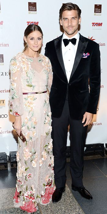 Palermo went for an embroidered Valentino design at the Annual Brazil Foundation Gala at the American Museum of Natural History in New York City.