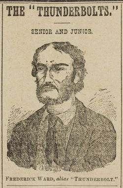 Frederick Ward (1835-1870), bushranger, alias 'Captain Thunderbolt'