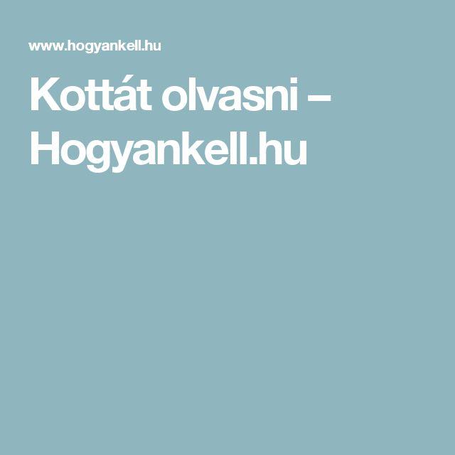 Kottát olvasni – Hogyankell.hu