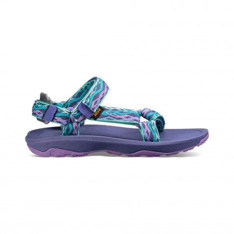 a0cd3e8b6b8 Teva Hurricane XLT 2 sandalen junior delmar sea glass/purple ...