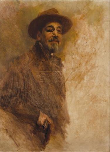 Columbano Bordalo Pinheiro: Auto retrato inacabado (1857-1929)