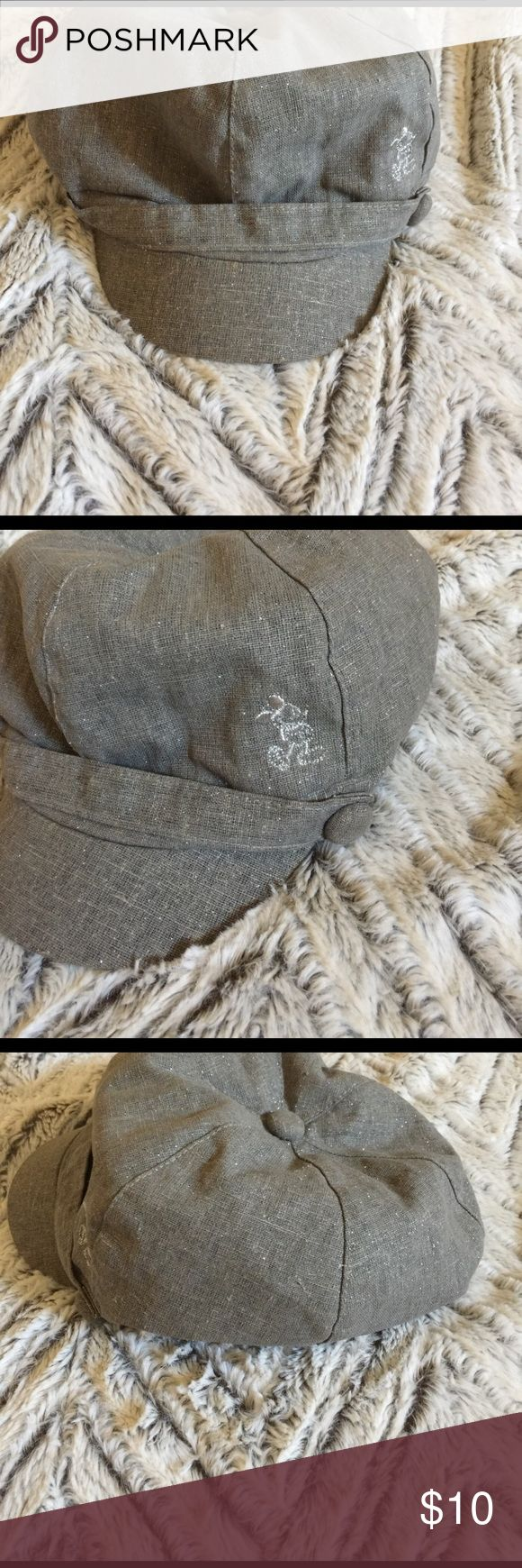 Disneyland hat Disney mickey mouse gray hat with mickey on the side Accessories Hats