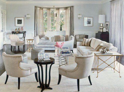 Hollywood Regency Inspired Livingroom