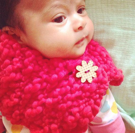 Newborn neckwarmer baby cowl  on Etsy, $10.00