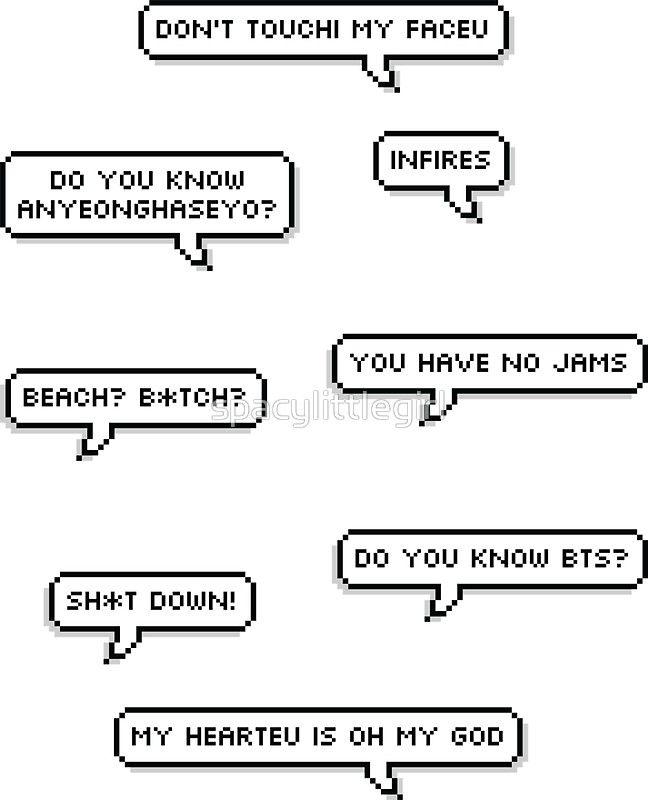 Kpop Quotes Wallpaper Sticker Pack Bts Funny Quotes Pegatina Quotes En