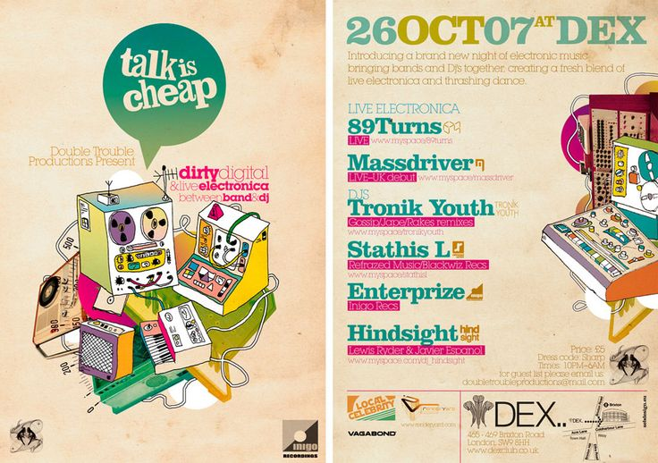 Talk Is Cheap Flyer by SeBDeSiGN.deviantart.com on @deviantART