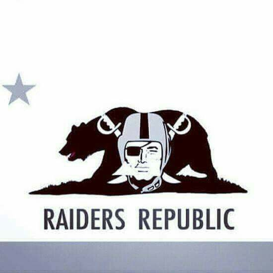 Oakland Raiders Los Angeles Raiders Silver and Black California