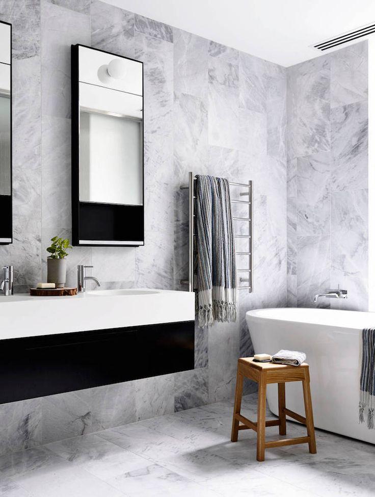 best 25 salle de bain marbre ideas on pinterest salle de bains carrelage en marbre salle de. Black Bedroom Furniture Sets. Home Design Ideas