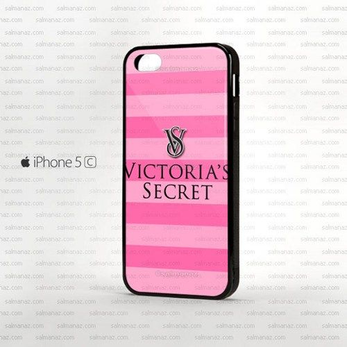 Victoria Secret Pink Stripe iPhone 5c Rubber Case