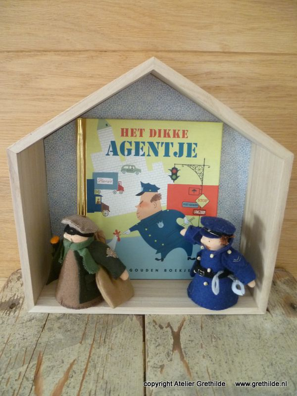 """""""Agent en boef"""" ontwerp Atelier Grethilde www.grethilde.nl"""