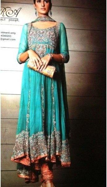 $320  Sky Blue Bridal Dress at Cheap Rate