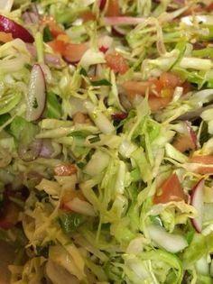 Ensalada de col para tacos (taquizas)