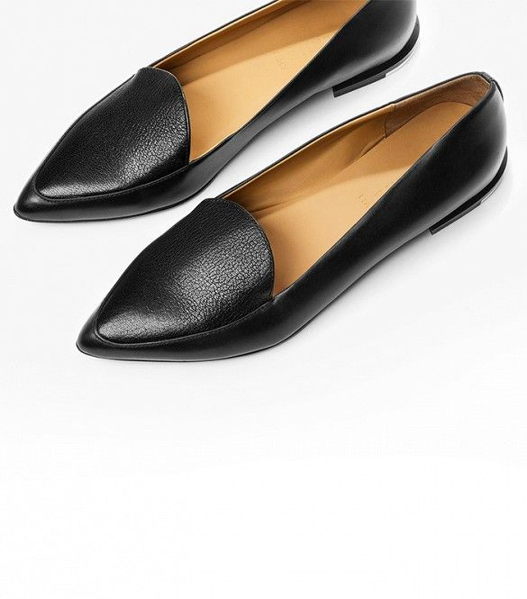 Everlane Modern Point Loafers