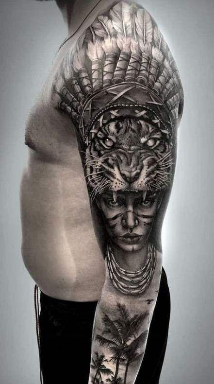 Super Nature Tattoo Shoulder Inspiration 40 Ideas