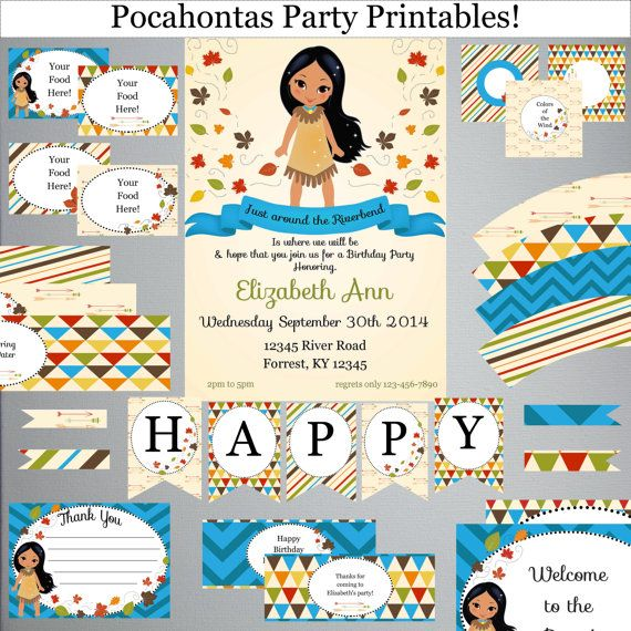 Pocahontas Theme Party Related Keywords Suggestions Pocahontas
