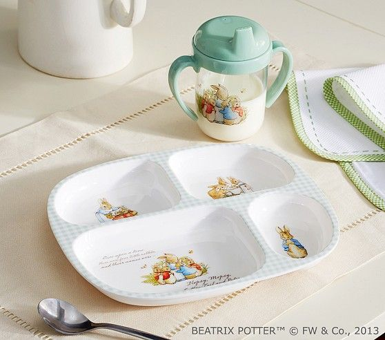 Peter Rabbit Feeding Set Pottery Barn Kids I Love This