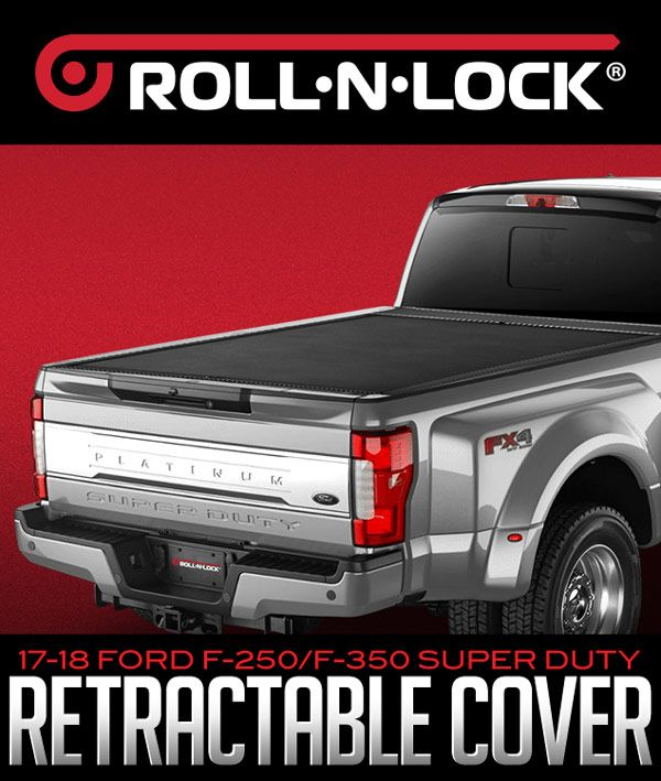 Roll N Lock M Series Retractable Tonneau Cover 2017 2018 Ford F 250 F 350 Super Duty Tonneau Cover Retractable Tonneau Cover Performance Parts