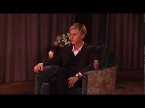 The comedic @Ellen DeGeneres reveals what she thinks is funny in this exclusive interview.