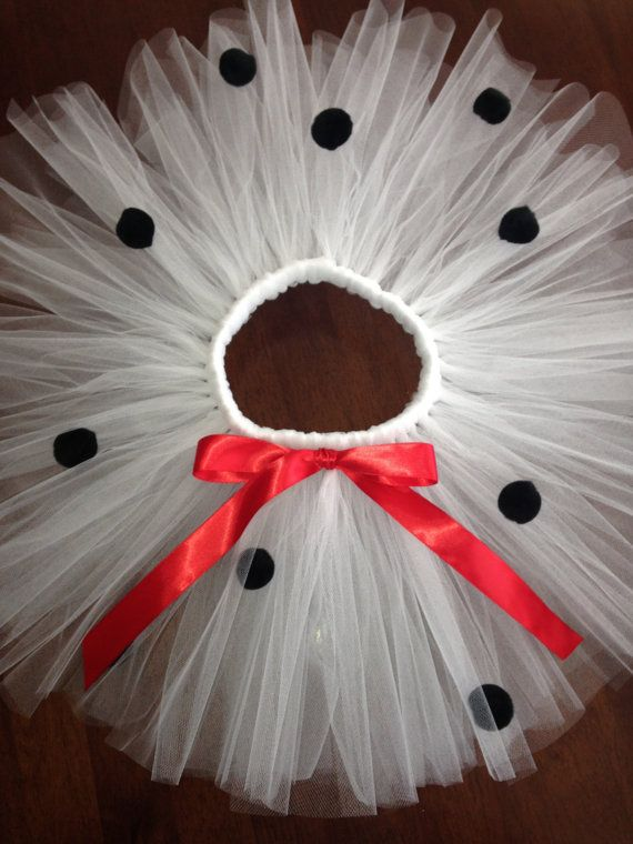 Dalmatian tutu Dalmation tutu costume by TheSugaredRibbon on Etsy                                                                                                                                                                                 More