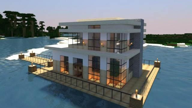 Realistic  Modern Minecraft Houses  I really wanna make this now...