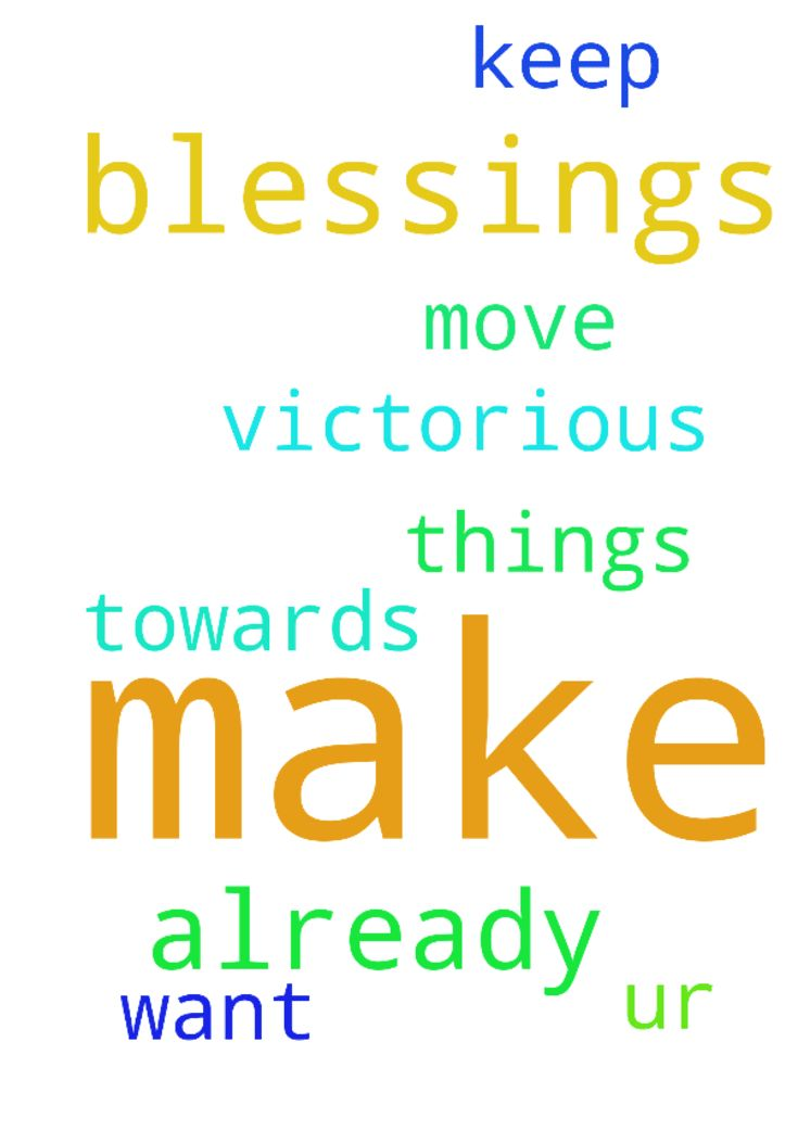 Lord. Thank u for the blessings I already have. Make - Lord. Thank u for the blessings I already have. Make me move towards the things I want further. Keep ur blessings on. Make me victorious.  Posted at: https://prayerrequest.com/t/ASk #pray #prayer #request #prayerrequest
