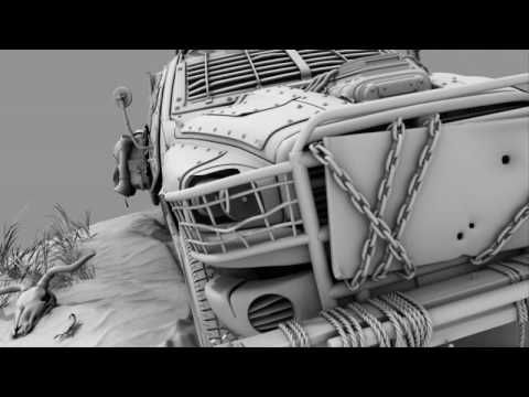 3D Demo Reel 2008 HD by Waldemar Bartkkowiak