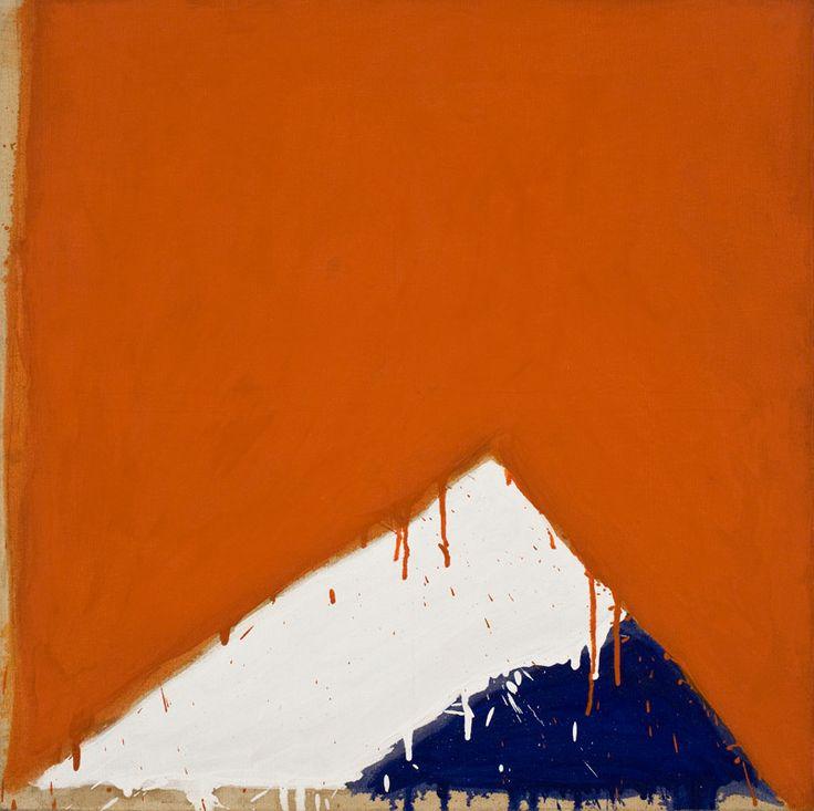 Serge Lemoyne - Sans titre (Bleu-Blanc-Rouge), 1976