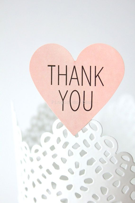 20 units of Thank You stickers. Cookie Sticker. by pingosdoceu