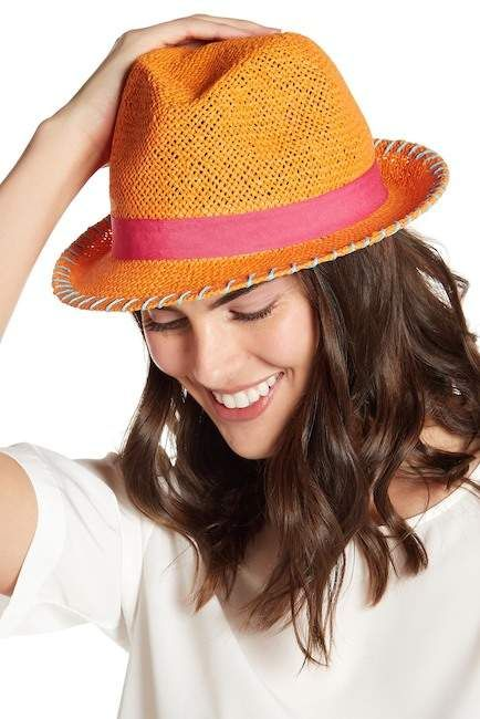 afc59868e28 August Hat Woven Straw Fedora