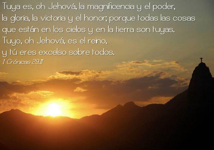 1 Crónicas 29,11