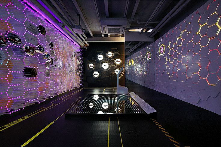 urbantainer lights up adidas flagship store with boost energy lab - designboom | architecture