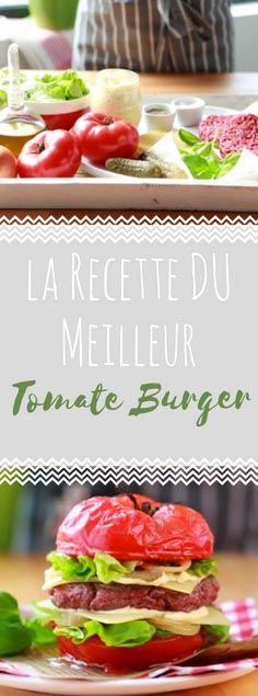 Découvrez la recette du  tomate burger en vidéo