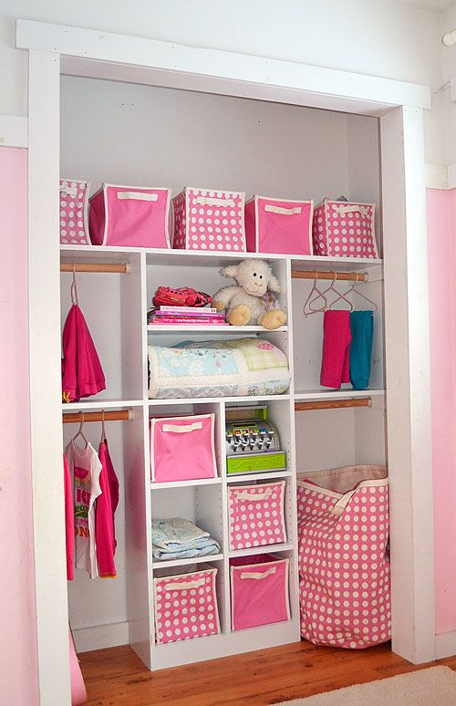 Ana White | Build a  Closet that is child size so they can actually use it   Site with Free and Easy DIY Project and Furniture Plans