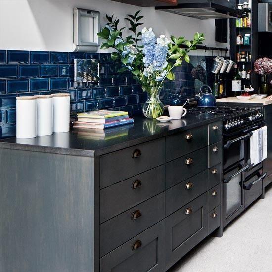 25+ Best Ideas About Blue Subway Tile On Pinterest