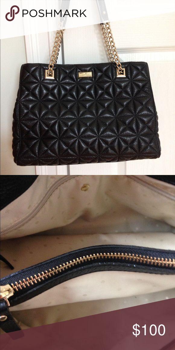 Kate Spade black quilted handbag Excellent condition. Kate Spade black quilted handbag. kate spade Bags
