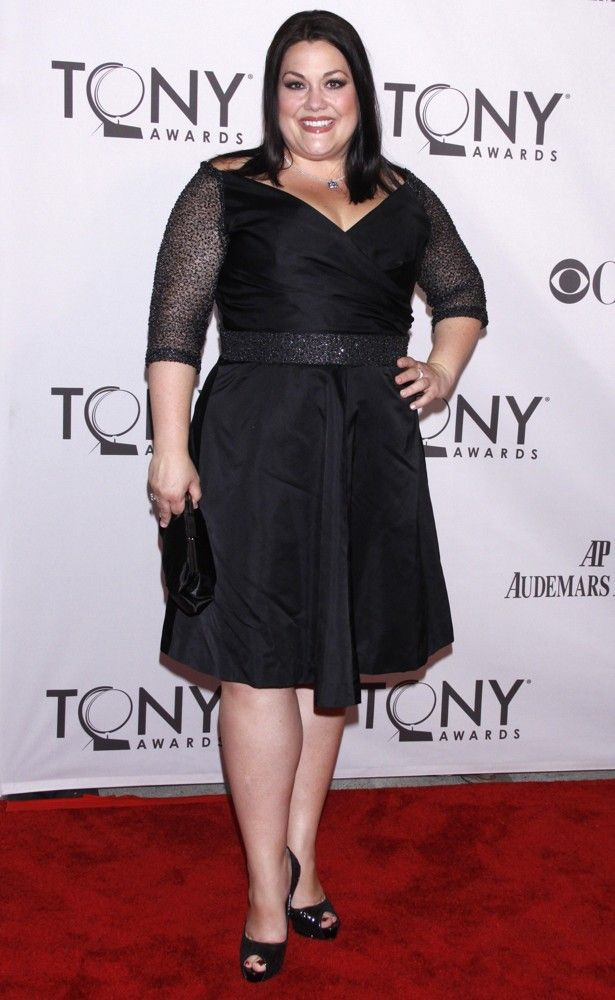 Brooke Elliott, The 65th Annual Tony Awards - Big beautiful real women with curves accept your body plus size body conscientiousness fashion actress
