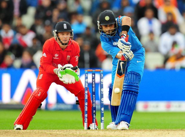 India's Virat Kohli during the ICC Champions Trophy Final at Edgbaston, Birmingham.