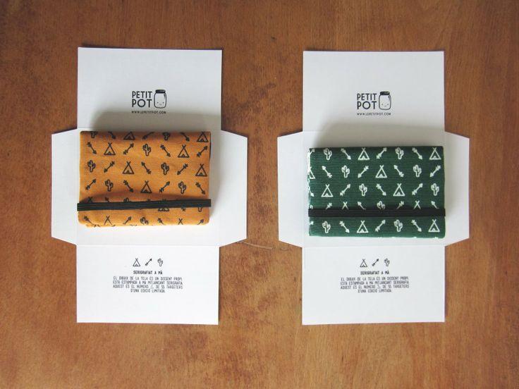 Le Petit Pot: Shop updates: screenprinted card holders