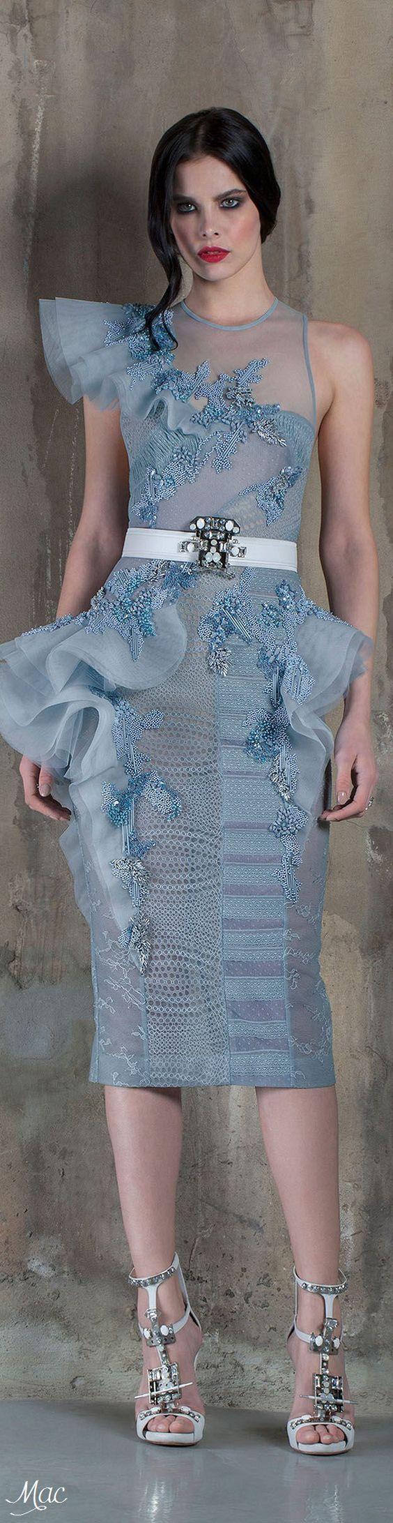 Spring 2016 Haute Couture Basil Soda: