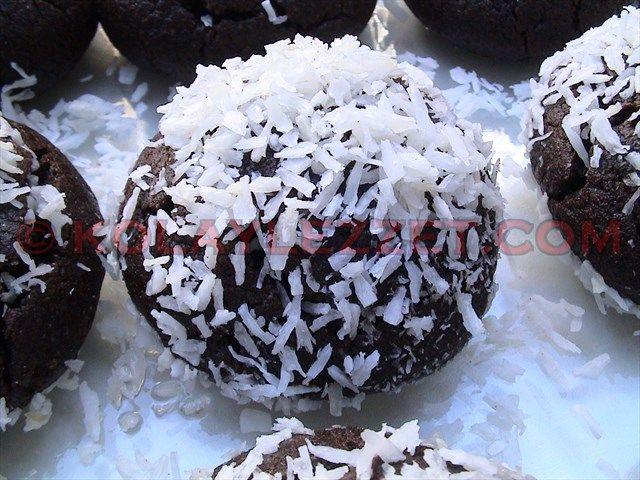 KAKAOLU ISLAK KURABİYE (Brownie kurabiyesi, Şerbetli Kurabiye)
