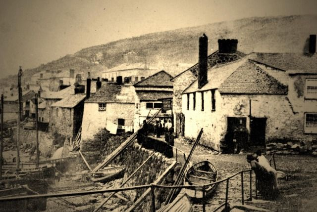 early print Mousehole 1870's