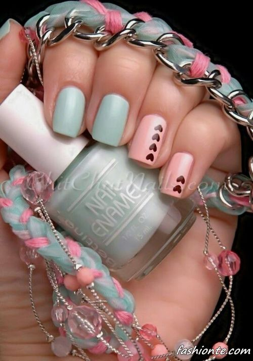 100 Latest & Sweet Nail Art Designs for Valentine's Day 2016 |