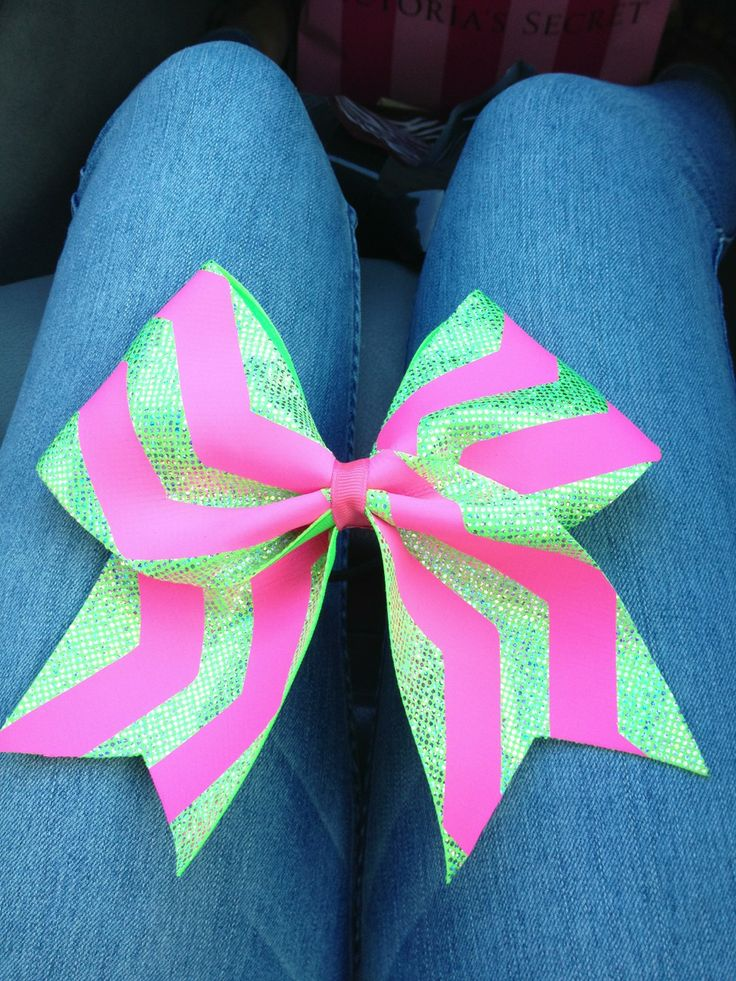 cheer-athletics-cheetahs: Obsessed with my new bow from platinum cheer gear