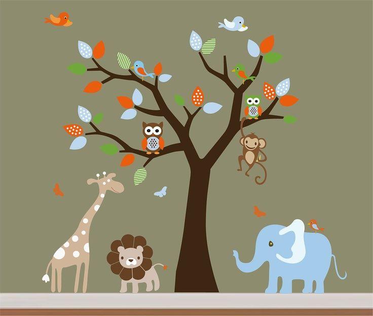 13 Wall Designs Decor Ideas For Nursery: 126 Best Church Nursery Images On Pinterest